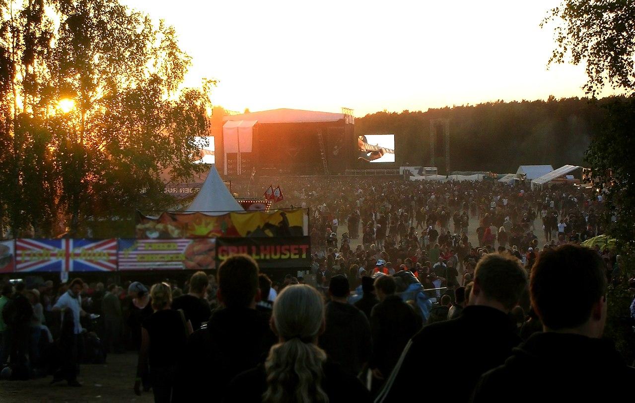 Musik på festival